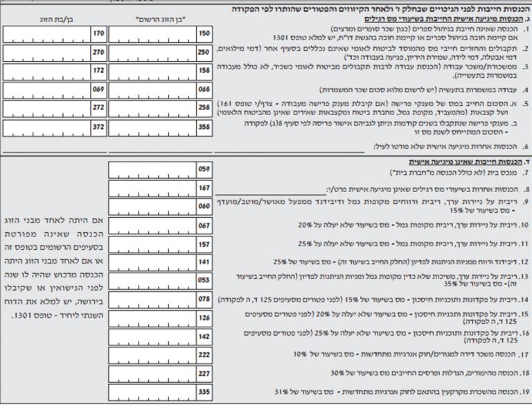 טופס 135 החזרי מס הכנסה הסבר - טופס אתר הטפסים של ישראל